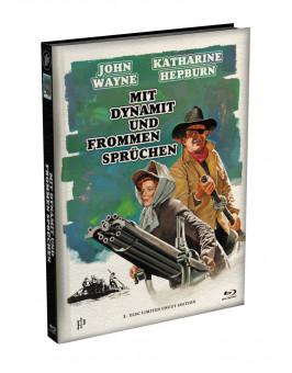 ROOSTER COGBURN - Mit Dynamit und frommen Sprüchen - Wattiertes Mediabook Cover A [Blu-ray] Limited 149 Edition