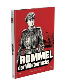 ROMMEL, DER WÜSTENFUCHS - 2-Disc Mediabook Cover A [Blu-ray + DVD] Limited 50 Edition - Uncut