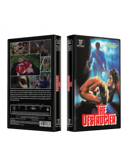 ALIEN PREY aka THE DESTRUCTOR 1 - VideoCase Retro Edition Cover A - Limited 25 [Blu-ray] Uncut