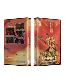 MYSTOR - DER TODESJÄGER 2 aka Deathstalker 2 - VideoCase Retro Edition Cover A - Limited 25 [Blu-ray] Uncut