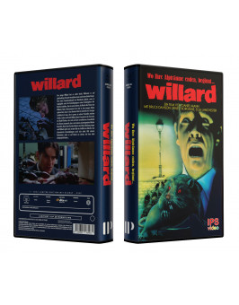 WILLARD - VideoCase Retro Edition Cover A - Limited 25 [Blu-ray] Uncut
