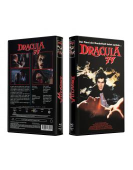 DRACULA (1979) Rekonstruierte Farbfassung - VideoCase Retro Edition Cover A - Limited 50 [Blu-ray] Uncut
