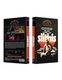 SLITHIS - VideoCase Retro Edition Cover A - Limited 25 [Blu-ray] Uncut