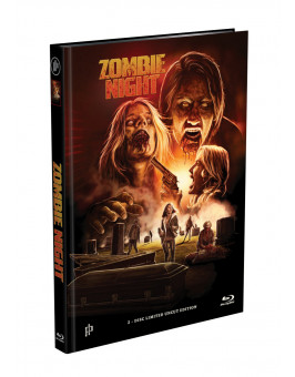 ZOMBIE NIGHT - 2-Disc Mediabook Cover A [Blu-ray + DVD] Limited 500 Edition - Uncut